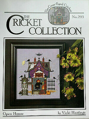 The Cricket Collection - Open House -- Cross Stitch Pattern/Chart