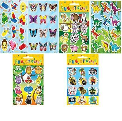 Children Fun Stickers (Per Sheet 12Stickers )Party Bag Filler-Discount Available