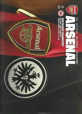 * 2019/20 - ARSENAL v EINTRACHT FRANKFURT (EUROPA LEAGUE - 28th November 2019) *