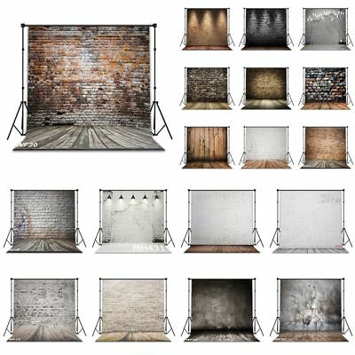 Brick Wall Floor Baby Photographic Backgrounds Vinyl Photography Backdrop Props