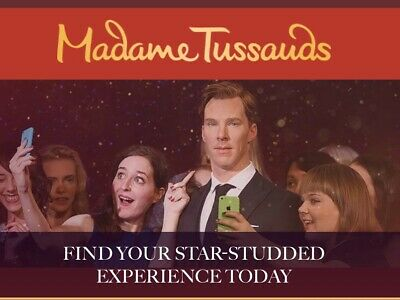 2 X Madame Tussauds London Tickets Pick Your Date!! (sun Savers)