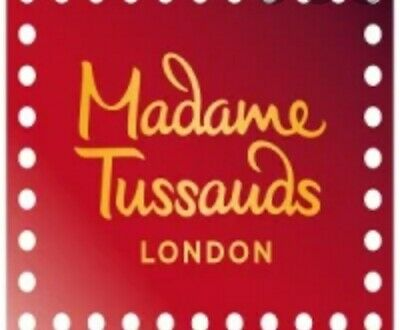 Madame Tussauds London 2 Ticket ,select your date from November until 31March