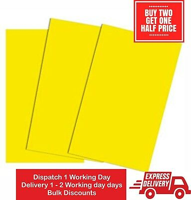 Yellow Pressboard  500mic A4 A3 Card Mount board 400gsm  Craft Arts Framing