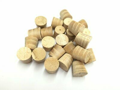 18mm Elm Tapered Wooden Plugs 100pcs