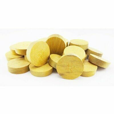 """1/2"""" Greenheart Tapered Wooden Plugs 100pcs"""