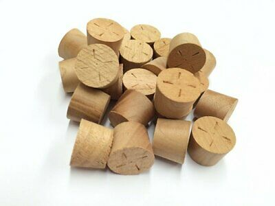 13mm Cherry Tapered Wooden Plugs 100pcs