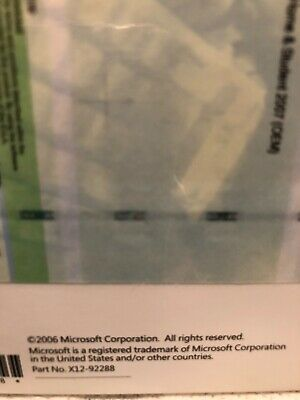 Microsoft Office 2007 Home and Student - BRAND NEW, SEALED WITH PRODUCT KEY