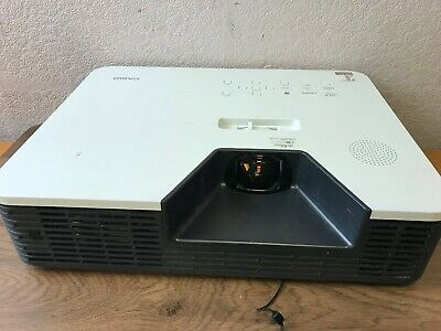 Casio XJ-ST145 HDMI VGA DLP Lamp Free Projector Projects Excellent - 568 Hours