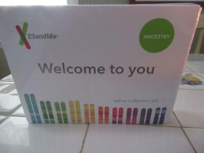 23andMe Ancestry Saliva Collection Kit SEALED BOX expires 5/31/2021