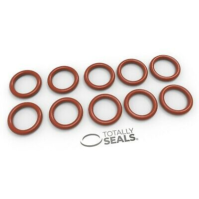 18mm Inner Diameter (ID) O-Rings - Silicone (VMQ) Rubber 55A Metric Seals