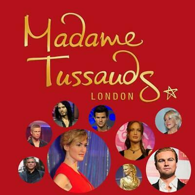 2 x tickets to Madame Tussauds London wax museum THURSDAY 5TH DECEMBER 2019