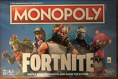 Monopoly Fortnite Edition New Sealed Hasbro Gaming