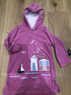 Mini Boden Beach Cover Up, Towelling Dress. Age 2-3