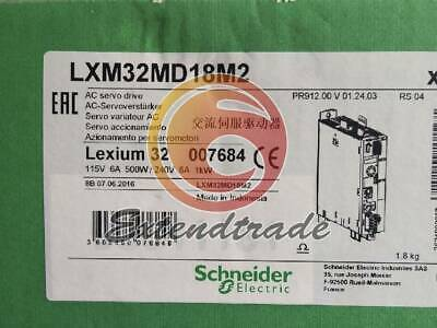 New Schneider Motion Servo Drive LXM32MD18M2