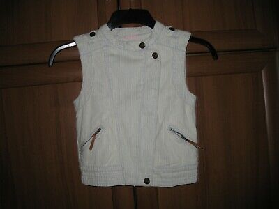 "Vest""H&M""Kids Pale Blue White Growth:134 Eur Age:8-9 Years(US) New With Tags"