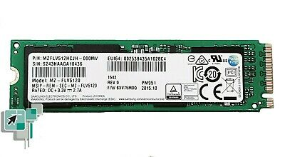 Surface Pro 4 512GB M.2 Solid State Drive (Samsung EVO 950 MZ-FLV5120) - Used