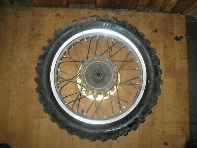 Hinterrad 18x2.15 / rear wheel / Suzuki RM 250 D