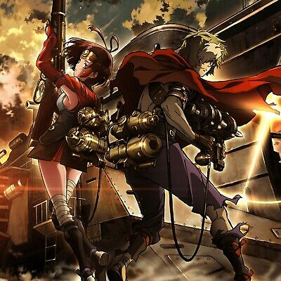 """24/"""" Kabaneri of the Iron Fortress poster wall art home decor photo print 16 20"""