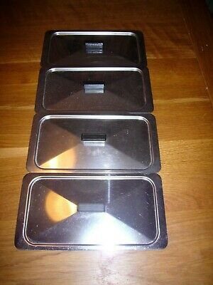 Philips Philips Ekco Hostess Heated Trolley Replacement Lid x 4