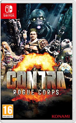 Nintendo Switch-CONTRA ROGUE CORPS (UK IMPORT) GAME NEW