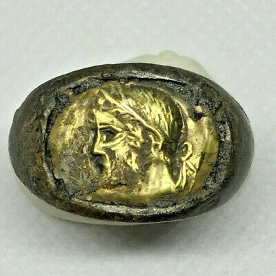 Roman Ancient Gold-Silver Emperor Ring- R0025