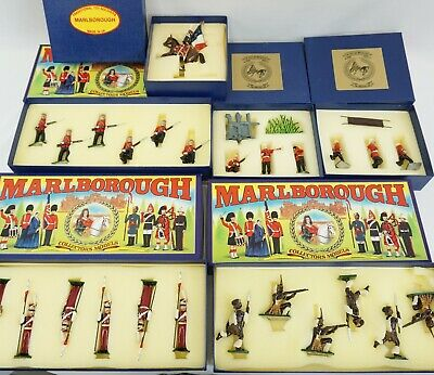 LOT OF 6- MARLBOROUGH sets - collectors -ZULU - toy soldiers - POLISH LANCERS