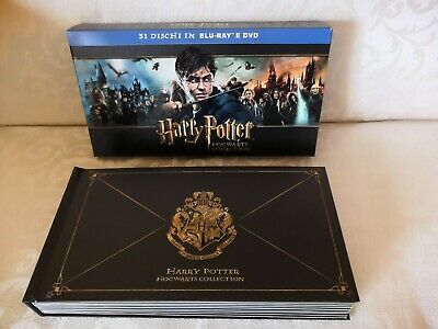 Harry Potter Hogwarts Collection Ed. Italiana Limited 19 Blu-Ray + 12 Dvd...