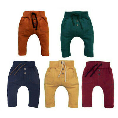 BNWT Baby Toddler Kids Boys/Girls Unisex Trousers Pants *High Quality Cotton