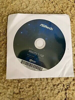asrock B250-12 Motherboard Driver Disc CD DVD