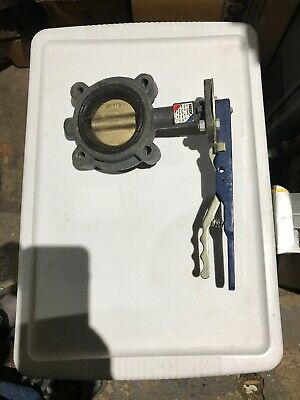 """NIBCO LD2000 3"""" BUTTERFLY VALVE 200psi NEW OLD STOCK"""