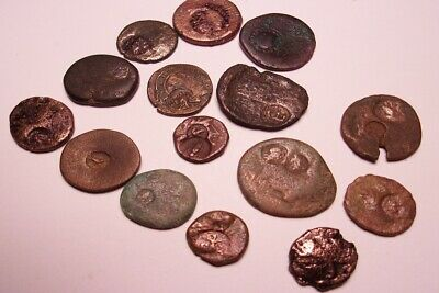 15 Ancient Greek Coins with Counter Strikes Circa 100/350 BC  Very nice examples