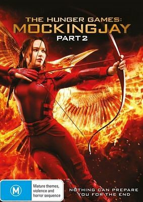 The Hunger Games Mockingjay Part 2 Dvd, New & Sealed, Free Post