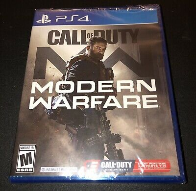 Call of Duty Modern Warfare PS4 2019 BRAND NEW FACTORY SEALED