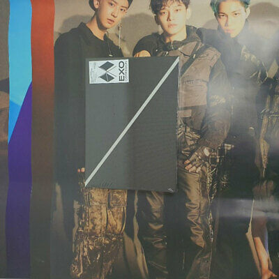 EXO 6th Album OBSESSION CD PhotoCard PhotoBook Poster PhotoSlide Poster Select