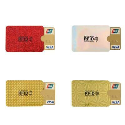 10pcs  RFID Credit ID Card Sleeve Protector Blocking Safety Shield Anti Theft