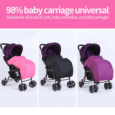 Universal Footmuff 60X40Cm Lining Stroller Baby Cosy Foot Muff Wind Cover Shield