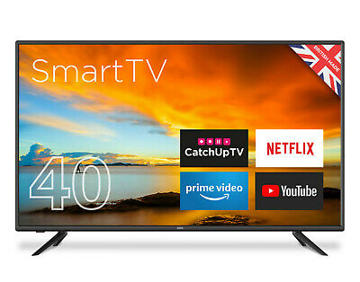 "CELLO 40"" INCH SMART LED TV FREEVIEW HD, WIFI, 2 x HDMi, USB MADE IN THE UK"
