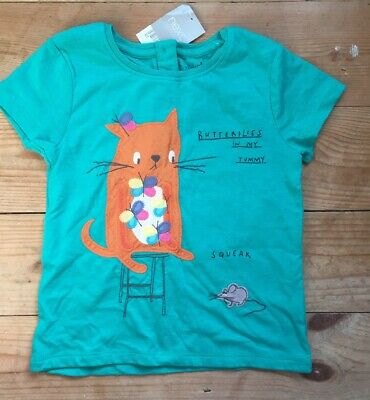 Next Girls T-shirt Top 4-5 Years BNWT
