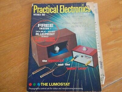 Practical Electronics Nov 1966 With Blueprint Electronic Party Games Lumostat