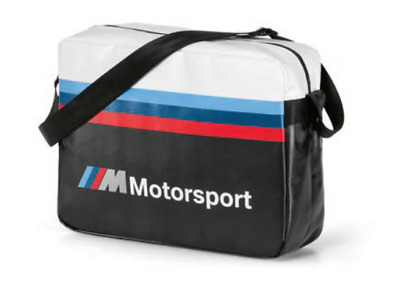 BMW ///M Motorsport Umhängetasche Laptoptasche Messenger Bag 80222461144