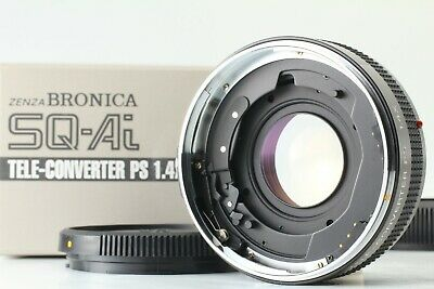 【UNUSED IN BOX】BRONICA SQ Ai TELE-CONVERTER PS 1.4x LENS from Japan D218J