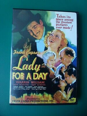 LADY FOR A DAY, 1933, Frank Capra, very rare, Warren William (DVD 2001)