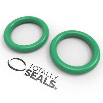 6mm Inner Diameter (ID) O-Rings - Viton (FKM) Rubber 75A Metric Seals Packets