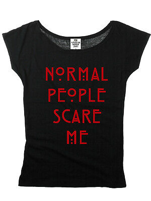 American Horror Story Normal People Special Girl Shirt Frauen T-Shirt black