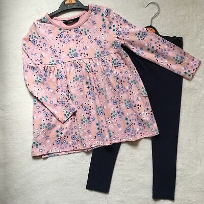 BN George Girls Dress & Leggings Age 3-4 Years