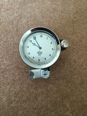 Smith's vintage 8 Day Windup car clock