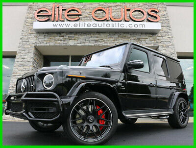 2020 Mercedes-Benz G-Class DELIVERY MILES Loaded ALL OPTIONS 2020 Mercedes G63 G Class 63 AMG Night Pkg 22 INCH WHEELS Exclusive Interior