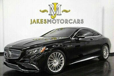 2016 Mercedes-Benz S-Class S65 AMG V12 DESIGNO Coupe~$239,975 MSRP~4700 MILES 2016 MERCEDES S65 AMG V12 DESIGNO COUPE~$239,975 MSRP~BLACK ON BLACK~ 4700 MILES