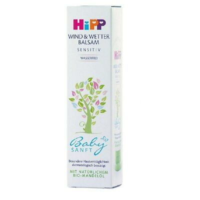 Hipp Baby Balsam. Protection Skin In Harsh Weather. 30ml