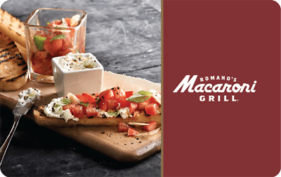 Macaroni Grill Gift Card $50 Value, Only $44.50! Free Shipping!
